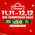 Shopee Kicks Off 11.11 - 12.12 Big Christmas Sale, Aims to Make E-Commerce for Everyone