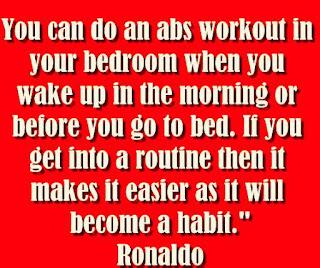 Ronaldo : important of habit