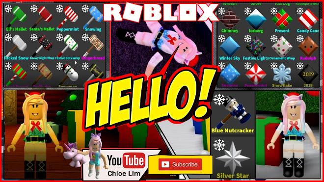 Roblox Flee the Facility Gameplay! Buying the Blue Nutcracker Bundle and Christmas Crates!