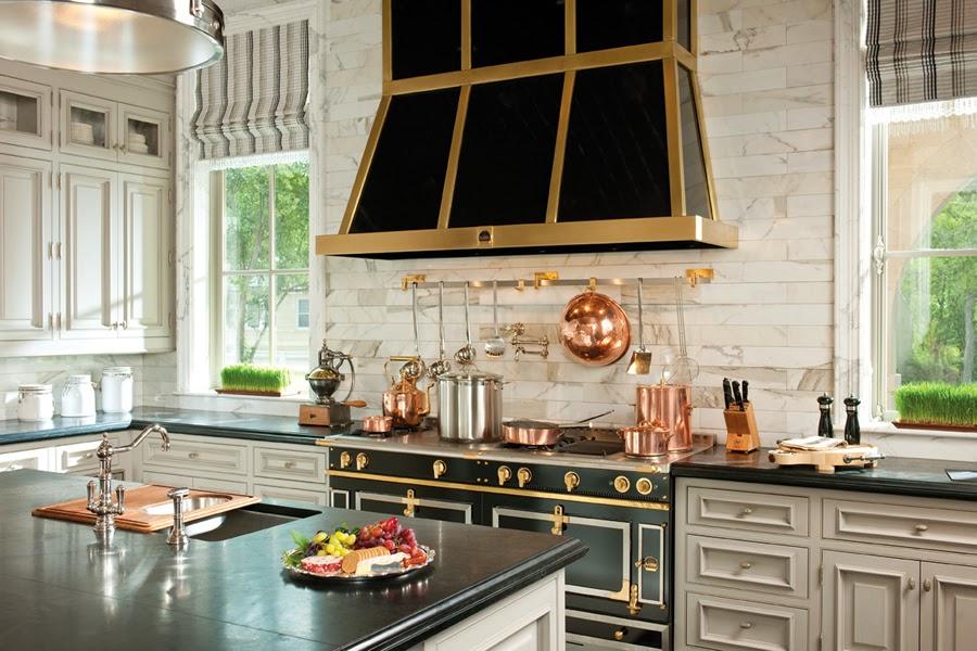 Tiffany Leigh Interior Design Kitchens Black White And Gold