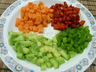 verduras vinagreta