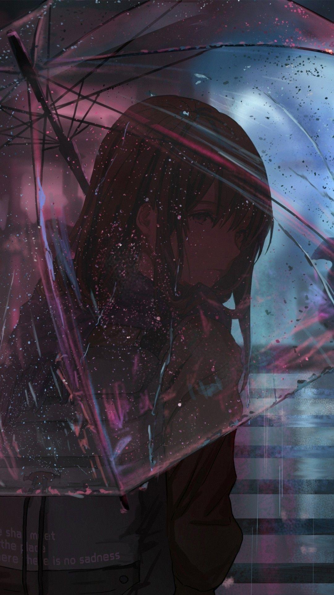 depressed anime girls