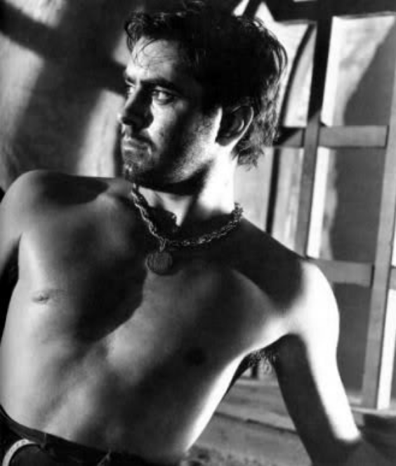 Naked tyrone power