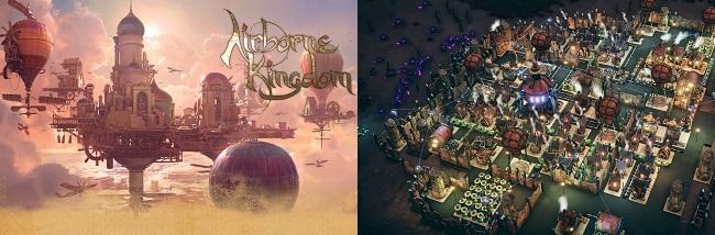Comparison: Airborne Kingdom vs Dream Engines Nomad Cities