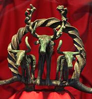 Figura hitita de cobre (Klaus-Peter Simon, CC BY-SA 3.0, https://commons.wikimedia.org/w/index.php?curid=32511457)