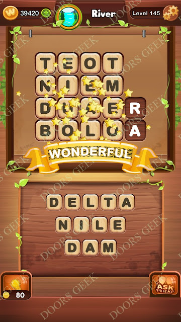 Word Bright Level 145 Answers, Cheats, Solutions, Walkthrough for android, iphone, ipad and ipod