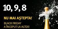 Concurs: Invarte Roata Norocului si Castiga Premii de la Altex - concurs - reduceri - black - friday - castiga.net
