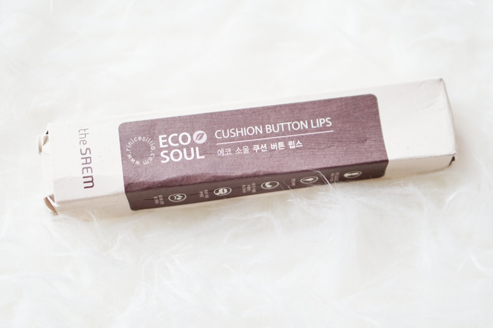 The Saem Eco Soul Cushion Button Lips
