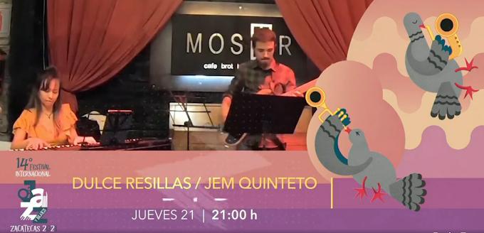 Programa del 14º Festival de Jazz y blues Zacatecas 2021