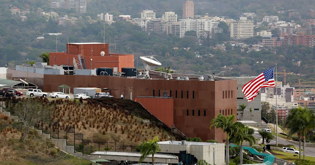 Image Attribute: The file photo of U.S. Embassy, Caracas, Venezuela