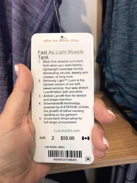 lululemon fast-as-light-muscle-tank