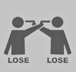 أنا أخسر / أنت تخسر