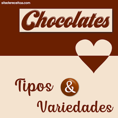 Chocolates: Tipos e variedades