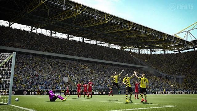 تحميل لعبة Fifa 2015 للكمبيوتر من ميديا فاير