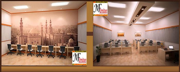 custom setting interior classroom