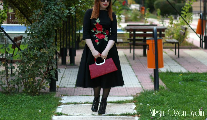 www.nilgunozenaydin.com-vintage elbise dikimi-nakışlı elbise dikimi-dikişblogu-kloş elbise dikimi