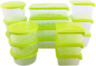 Tároló edények műanyagból