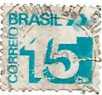 Selo Tipo cifra - 15