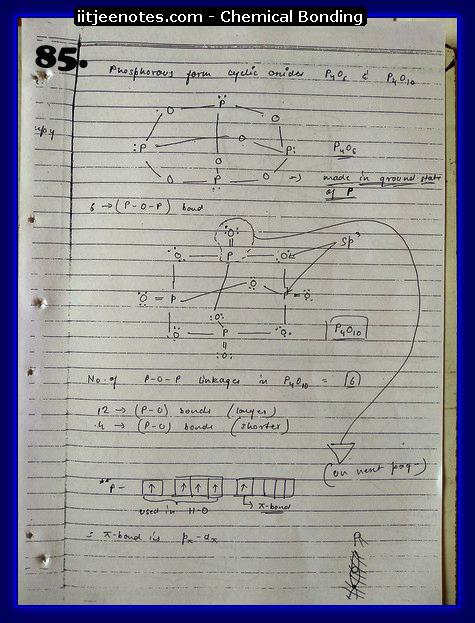Chemical-Bonding Notes chemistry13