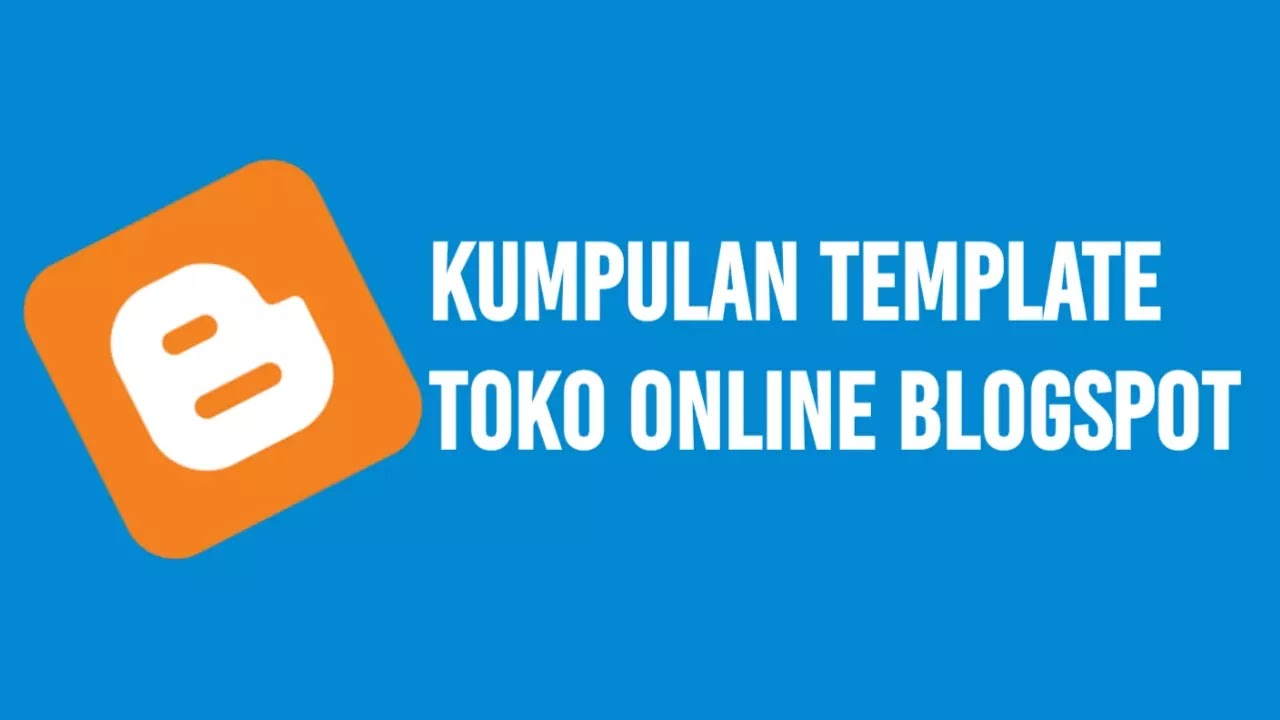 Template Toko Online Blogspot