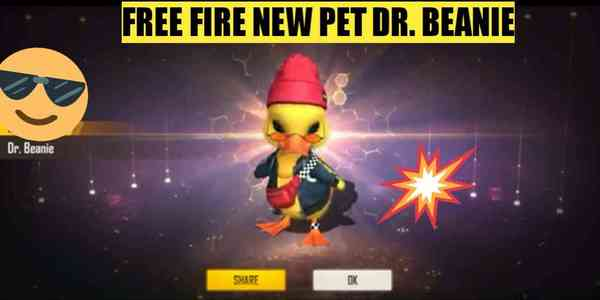 Free Fire new pet Dr. Beanie: All you need to know!