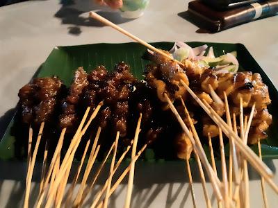 Late Nite Dinner Di Restoran Satay Wak Radol Skudai