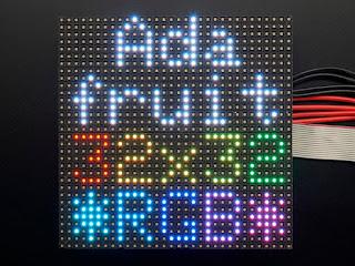 Adafruit 32x32 RGB Led Matrix