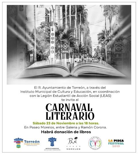 NOTICIAS Carnaval literario: donación de libros, performance teatral y cultura urbana | Redacción Bitácora de vuelos