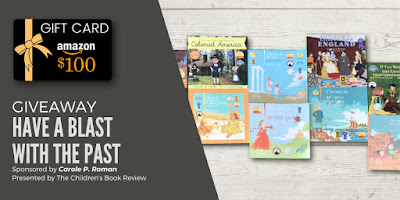 https://www.thechildrensbookreview.com/weblog/2019/12/giveaway-have-a-blast-with-the-past-prize-pack.html