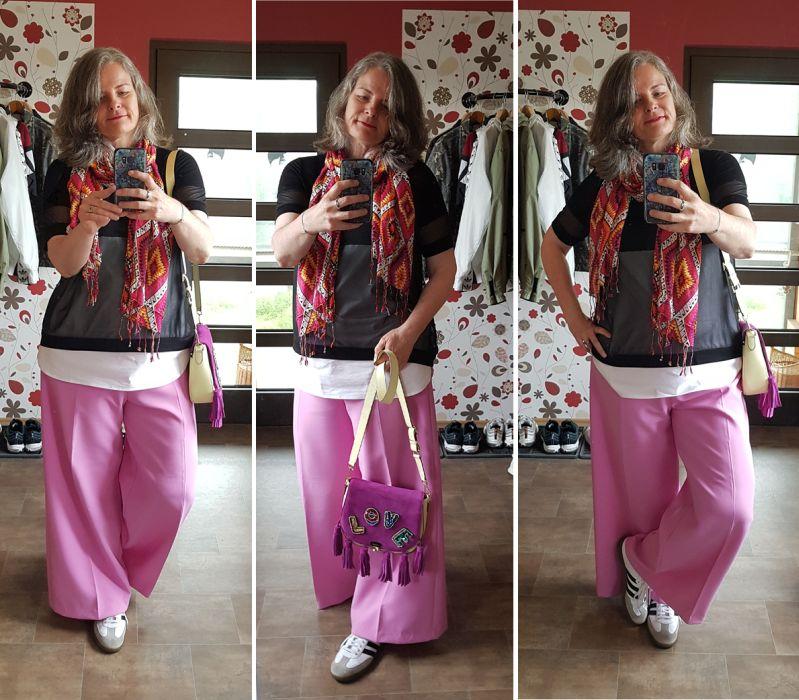 Zoe Lu Love Reloaded auf gelbem Buddy zu Pink kombiniert