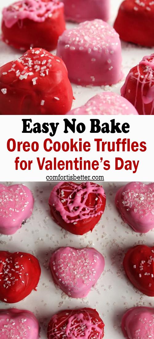 Sprinkle Valentine's Day Cookies