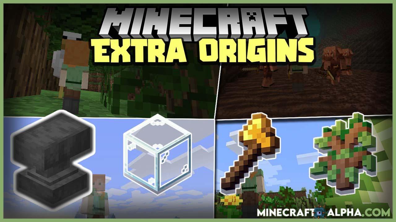 Minecraft Extra Origins Mod 1.17 (More Backstories)