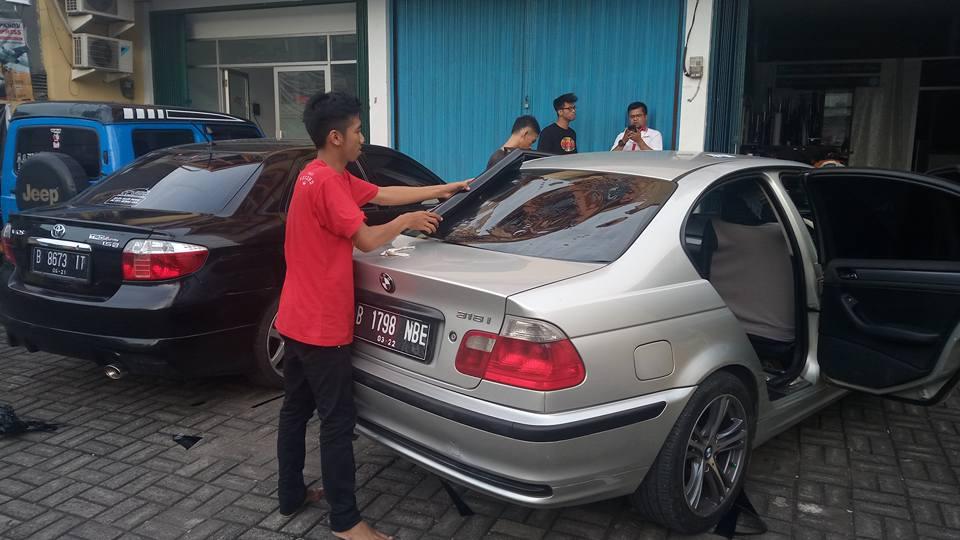 jasa pasang kaca film Solar Gard® untuk mobil Honda HR-V