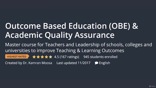 Outcome Based Education (OBE) & Academic Quality Assurance