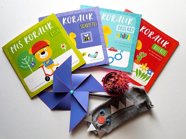 Miś Koralik - Wydawnictwo Wilga - Grupa Wydawnicza Foksal - Grażyna Nowak-Balcer - Anna Zboina - książeczki dla dzieci