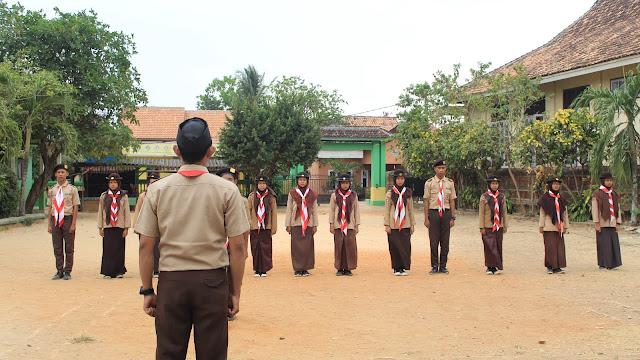 Pelantikan Pramuka SMK Yasmida Ambarawa Angkatan Ke-11