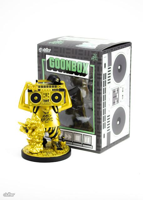 Tenacious Toys Rap Kings GOONBOX Gold Edition 7 inch vinyl art toy 1