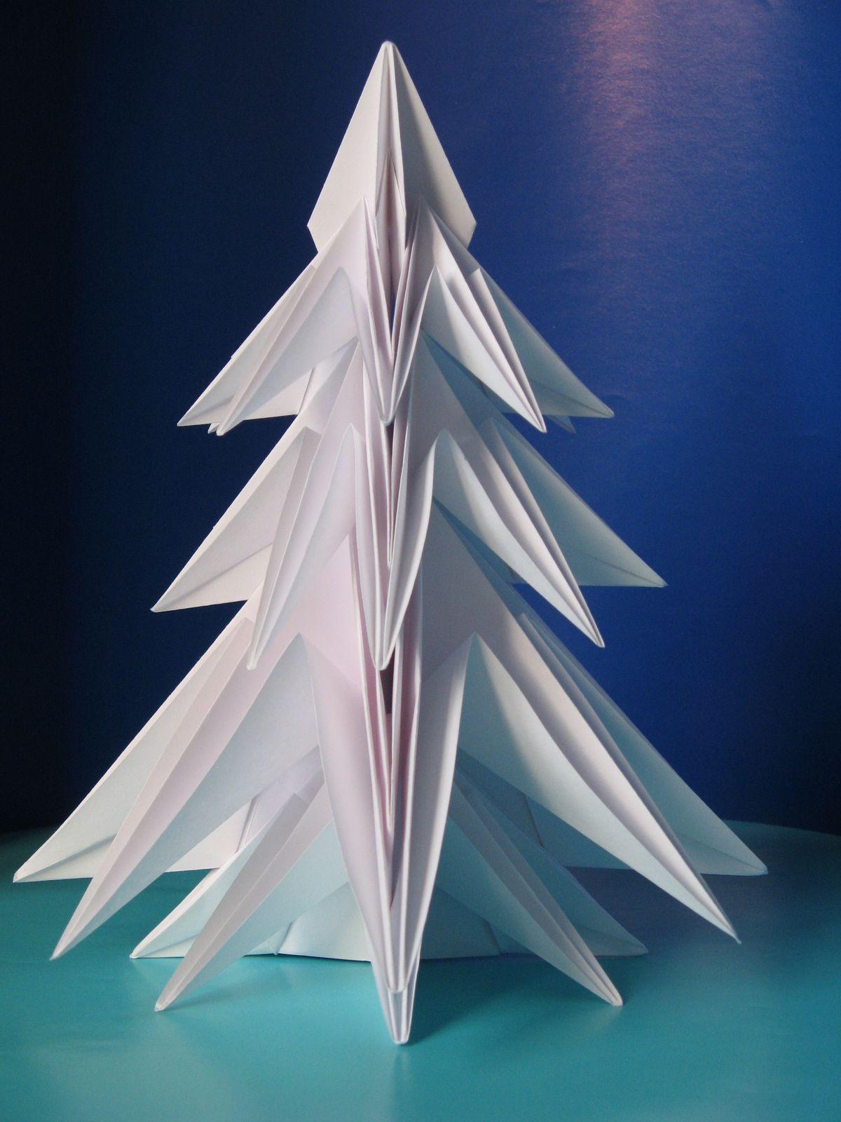 origami Abete 2 - Fir tree 2 by Francesco Guarnieri
