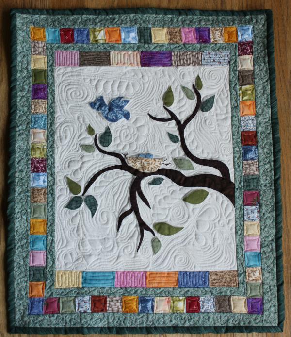 Spring quilt | DevotedQuilter.blogspot.com