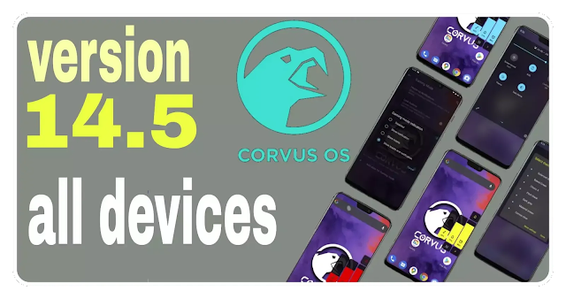 Corvus OS v14.5-Mutate | Redmi K20 Pro Poco m2 Note 9 Max
