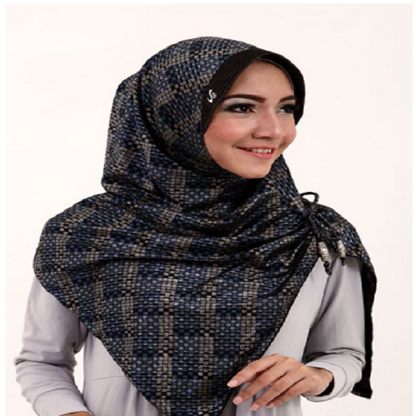 model jilbab segi empat anak sma