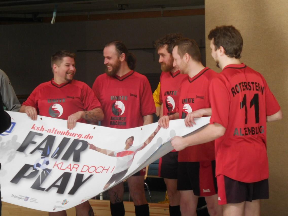 Roter Stern Altenburg Fussball Bannerubergabe U A An Die