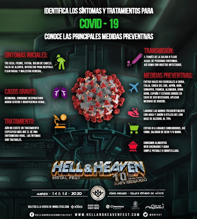 HELL AND HEAVEN INFORMA:
