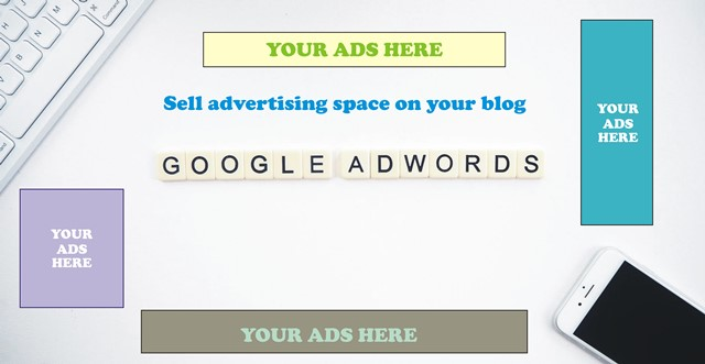 Sell advertising space on your blog