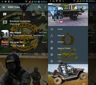 Free Download BBM MOD KOPASKA APK terbaru