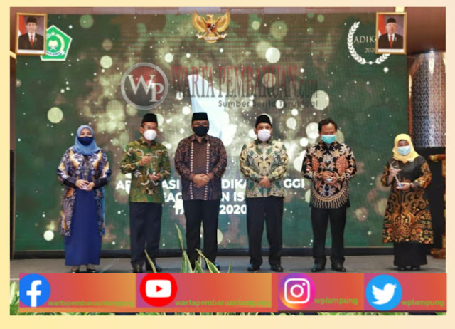 UIN Lampung Terima Penghargaan ADIKTIS 2020