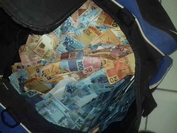 """""""CUIDADO CAXIAS"""" - Polícia apreende quase R$ 3 milhões em notas falsas em Teresina"""