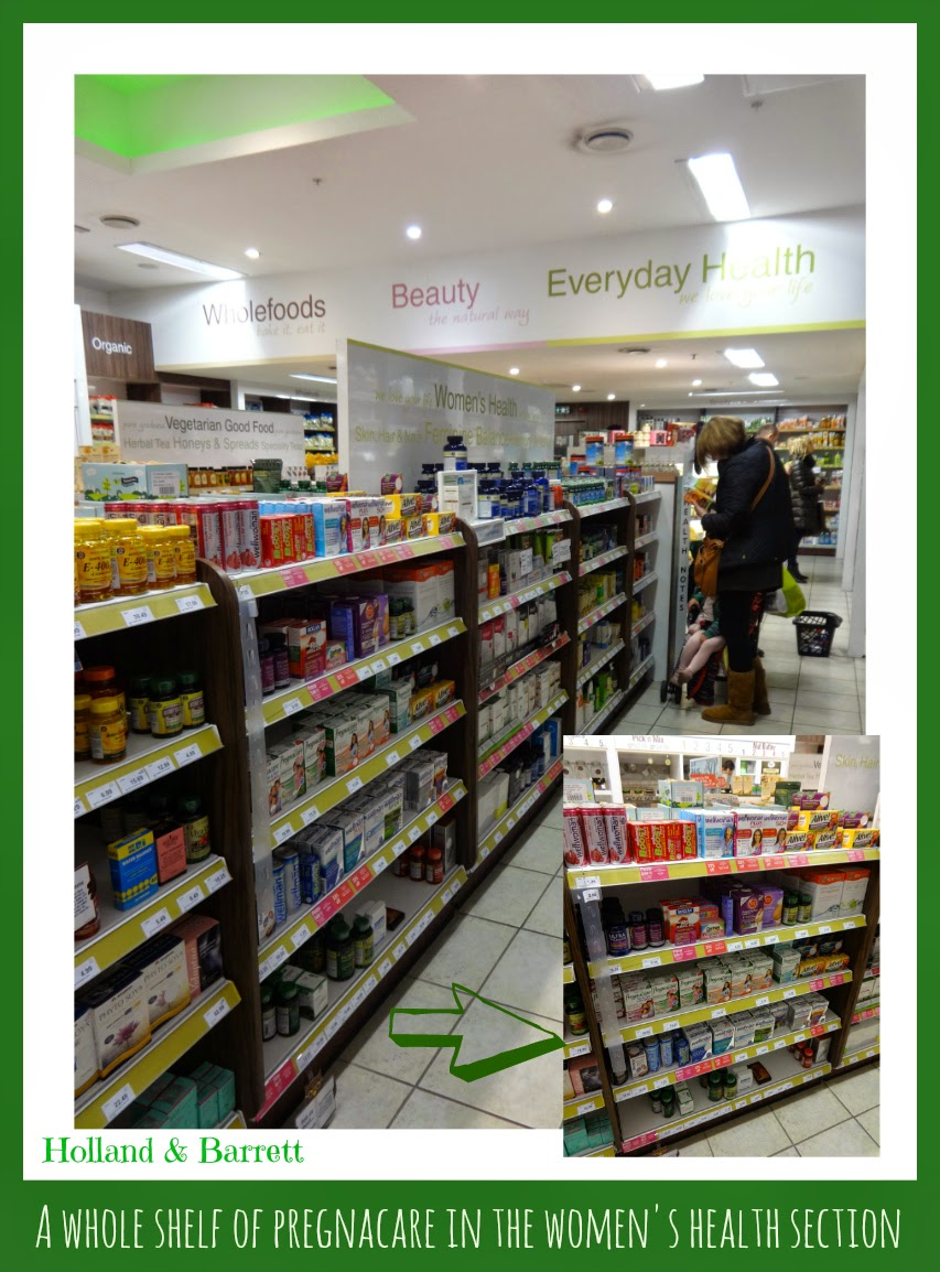 My shop for Pregnacare to Holland and Barrett