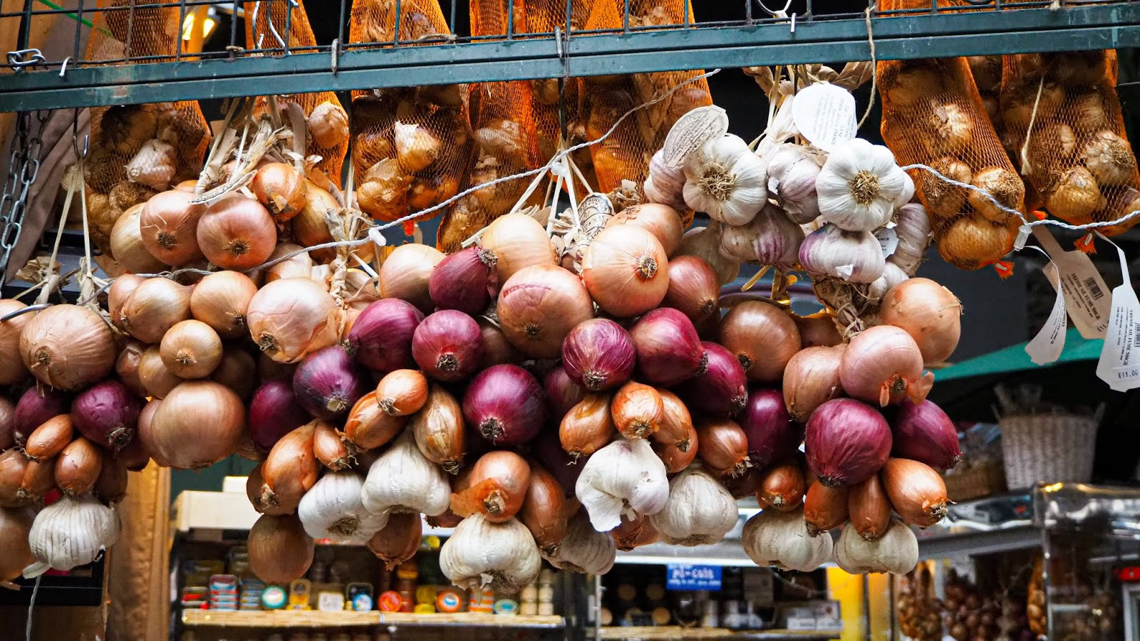 Fresh produce at Borough Market