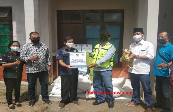 PT Adaro dan PT Pama Salurkan Bantuan Sembako Sebagai Bentuk Apresiasi, Peduli Kepada Wartawan Selaku Garda Depan Informasi Covid- 19